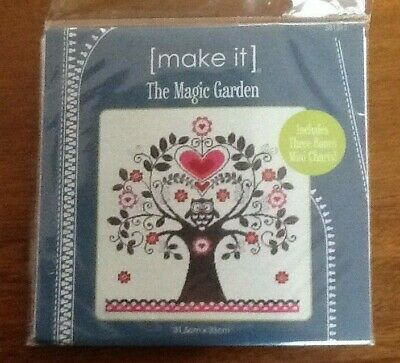 Embroidery Kit - Leutenegger - Make it - The Magic Garden - new unopened