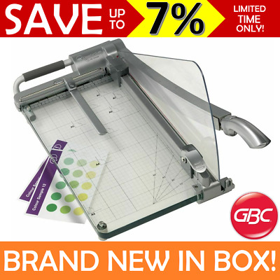 NEW GBC A3 Heavy Duty Guillotine Cutter Precision Laser Light Office CL420