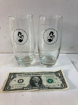 Vintage 1960's Playboy Club Glasses of Femlin | Design by Leroy Neiman