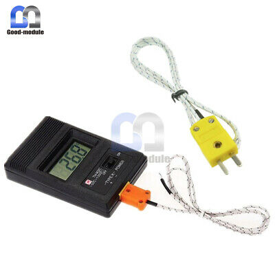 TM-902C Digital LCD K Type Thermometer Meter Single Input + Thermocouple Probe C