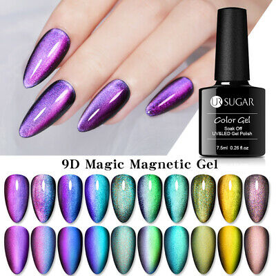 UR SUGAR 9D Magnetic UV Gel Polish Cat Eye Chameleon Soak Off Gel Nail Varnish