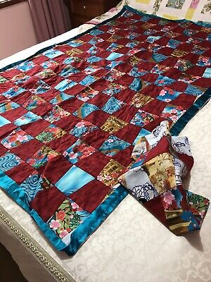 Unfinished Lap To Single Quilt