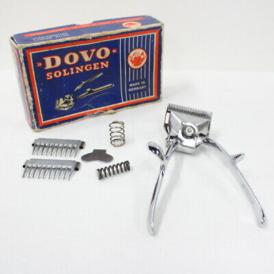 Vintage 1950s Dovo Solingen 40 Hair Clipper Made In Germany #405