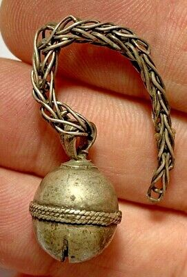 Ancient Roman silver ritual bell very nice and interest 7.3gr 86mm