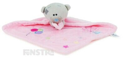 Teddy Bear Comforter | Tiny Tatty Teddy Security Blanket | Girl Pink Baby Blanke