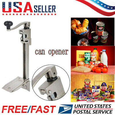 """11"""" Large Heavy-Duty Commercial Kitchen Restaurant Food Lid Can Opener Table"""