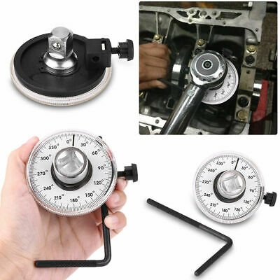 """Measure Tool Angle Gauge Meter Drive Torque Wrench Rotation 360 Degree 1/2"""""""