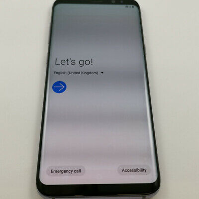Samsung Galaxy S8 Plus - 64GB - Orchid Grey (UNLOCKED) Grade C -Dark Screen Burn