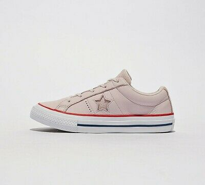 Infant Converse One Star Ox Pink Trainers (PF3) RRP £31.99