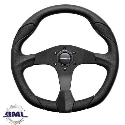 Land Rover Momo Quark Steering Wheel 350Mm Black/Leather. Part- Da5726