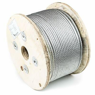 RK Wire Rope, 7x19 Galvanized Aircraft Steel Cable