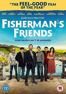 Fisherman's Friends DVD 2019  Brand New & Sealed UK Edition