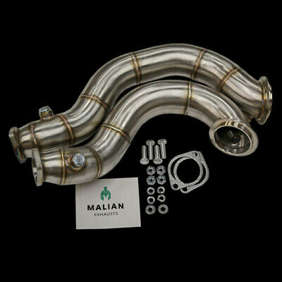 "BMW 335i/135i Catless 3"" Exhaust Turbo Downpipes, E9x & E8x, N54"