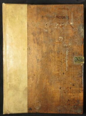 Incunable 1496 Methodius Wooden Boards Christian Prophecy Jerusalem Messiah 1st