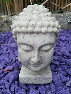 New Antique Looking Buddha Head Garden Decorative Ornament With Neutral Colour