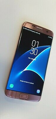 Samsung Galaxy S7 Edge (SM-G935F) - Rose Pink - 32GB - Unlocked -Smartphone