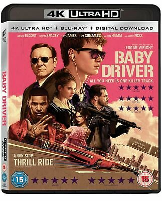 Baby Driver 4K Uhd + Blu Ray - Brand New Sealed Uk Release