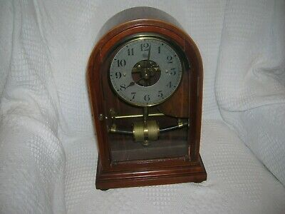 FRENCH  BULLE  ELECTRIC CLOCK (1930s ) Smith Jewellers Stonebow  LINCOLN on Face