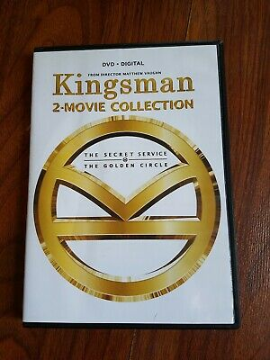 Kingsman 2-Movie Collection (Very Good 2 DVD Disc Set, With Digital Copy)