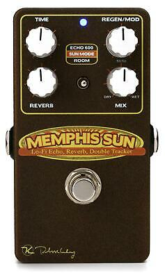 Keeley Memphis Sun Lo-Fi Reverb, Echo, and Double Tracker Pedal
