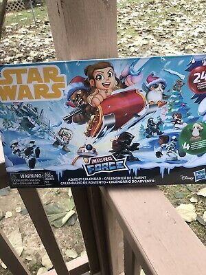 Factory Sealed Star Wars Micro Force Advent Calendar 2018 With 24 Figures NEW