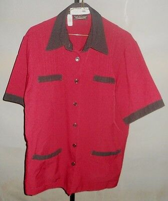 Harrahs Casino Hotel Las Vegas Uniform Red Size 10