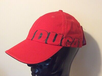 PUMA Adjustable DUCATI Logo Red Cap