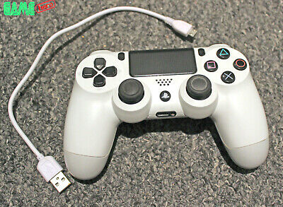 Official Genuine Sony Playstation 4 Ps4 Controller Gamepad White Dualshock 4.