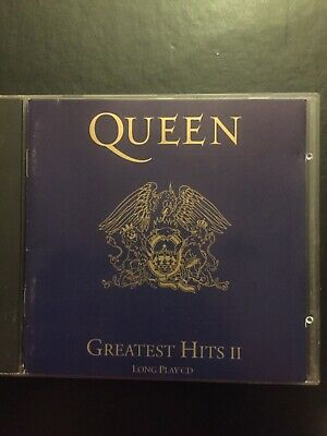 Queen Greatest Hits II Used 17 Track Best Of Cd Rock Pop 80s 90s