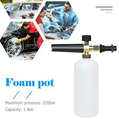 Snow Foam Lance Cannon Washer Gun Soap Pressure Car Foamer Wash Jet Bottle Tool