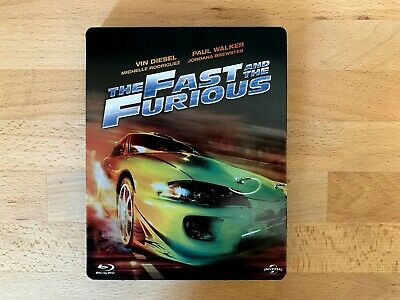 The Fast and The Furious - Édition Steelbook blu-ray