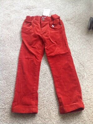 BNWT Gorgeous Cord Trousers By Next Size 3-4 Years