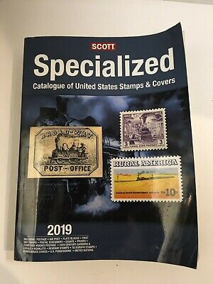 Scott 2019 Specialized Catalogue Of United States Stamps & Covers 1288 Pgs.