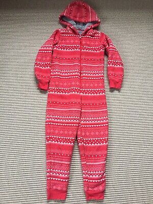 Child Winter Christmas All In One Age 7/8 M&S
