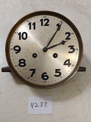 Antique German R/A Regulator Wall Clock  Movement With Hands Drgm 1092862