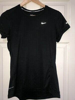 Nike Dri-Fit Black Top, Size M