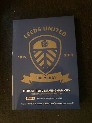 Leeds United Official 100 Year Centenary Match Day Programme Limited Edition