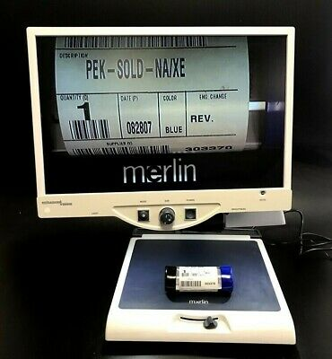 """Merlin Enhanced Low Vision Video Magnifier 22"""" LCD Monitor Model MRVE22A"""