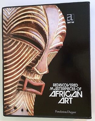 Rediscovered Masterpieces Of Africa w/orig slipcase & supplements FANTASTIC FIND