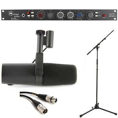 Heritage Audio HA73EQ + Shure SM7B Vocal Recording Package