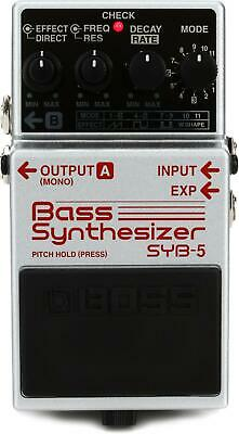 Boss SYB-5 Bass Synthesizer Pedal (Open Box 2)