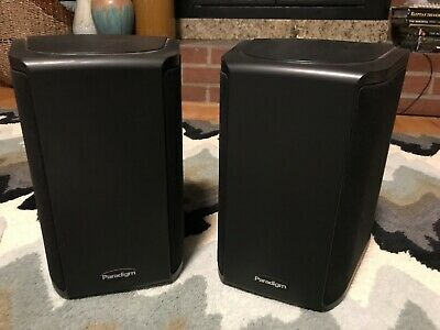 Paradigm ADP-190 v.5 rear surround effects speakers with Wall Mounts