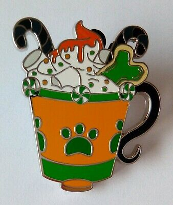 Disney Parks Happy Holiday Hot Cocoa Disney Pin Mystery box Pluto Dog Mug Bone