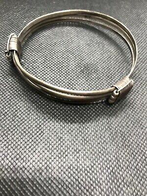 Sterling Silver Hand Made Bangle