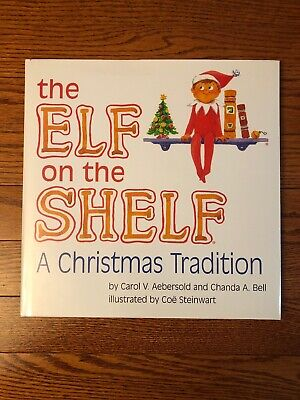 THE ELF ON THE SHELF : A Christmas Tradition Hardcover Book **BOOK ONLY**