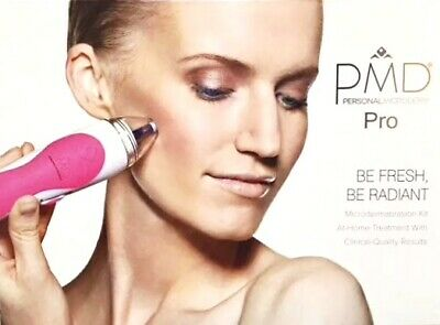 Pmd Personal Microderm Pro Device Pink - Brand New Open Box Item!!!
