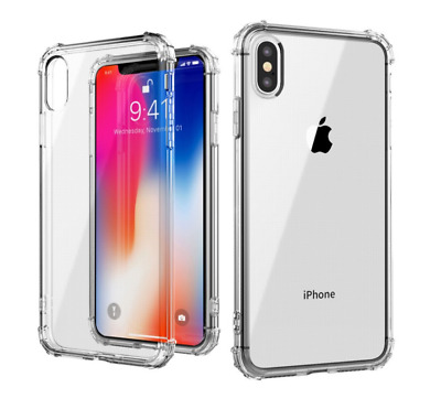 For iPhone 11 Case ShockProof Crystal Clear Soft Silicone Gel Bumper Cover