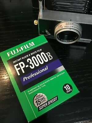 1 Sealed Pack of Fujifilm Fuji FP-3000B Instant Black & White Pack Film polaroid