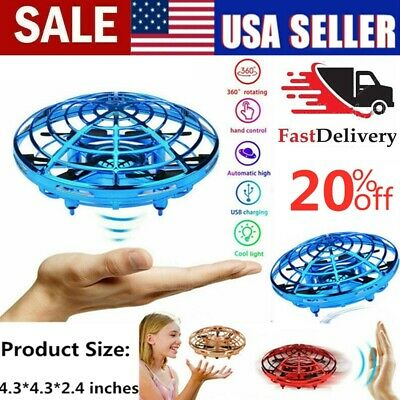 Mini Drones 360° Rotating Smart Mini UFO Drone for Kids Toys Xmas Toy Gifts USA*