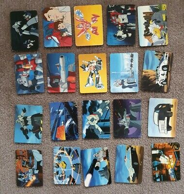 Transformers - Trans Formers 1985 Hasbro Trading Cards Lot of 20 fair condition